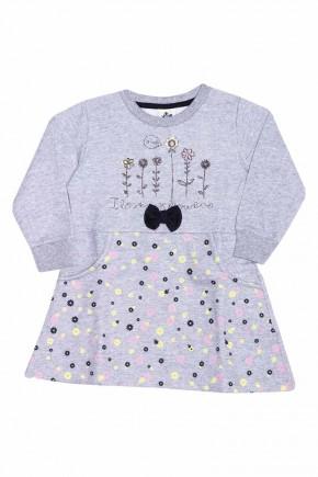 vestido feminino infantil andritex 052 mescla