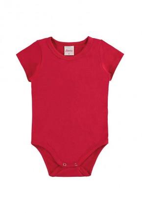 body bebe liso alenice feminino vermelho