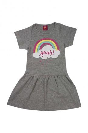 vestido infantil yeah arco iris mescla