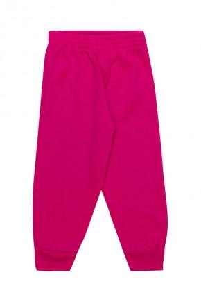 calca de moletom infantil 1954 rosa