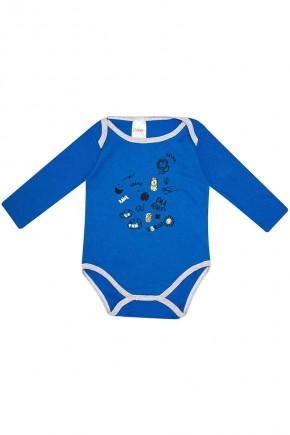 body masculino leao hlerinha 012 azul