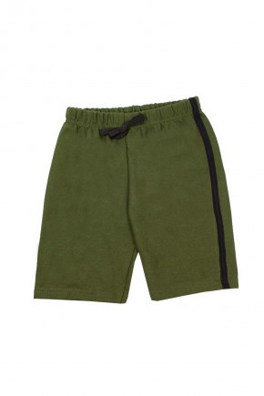 shorts masculino moletinho verde com listra na lateral copia
